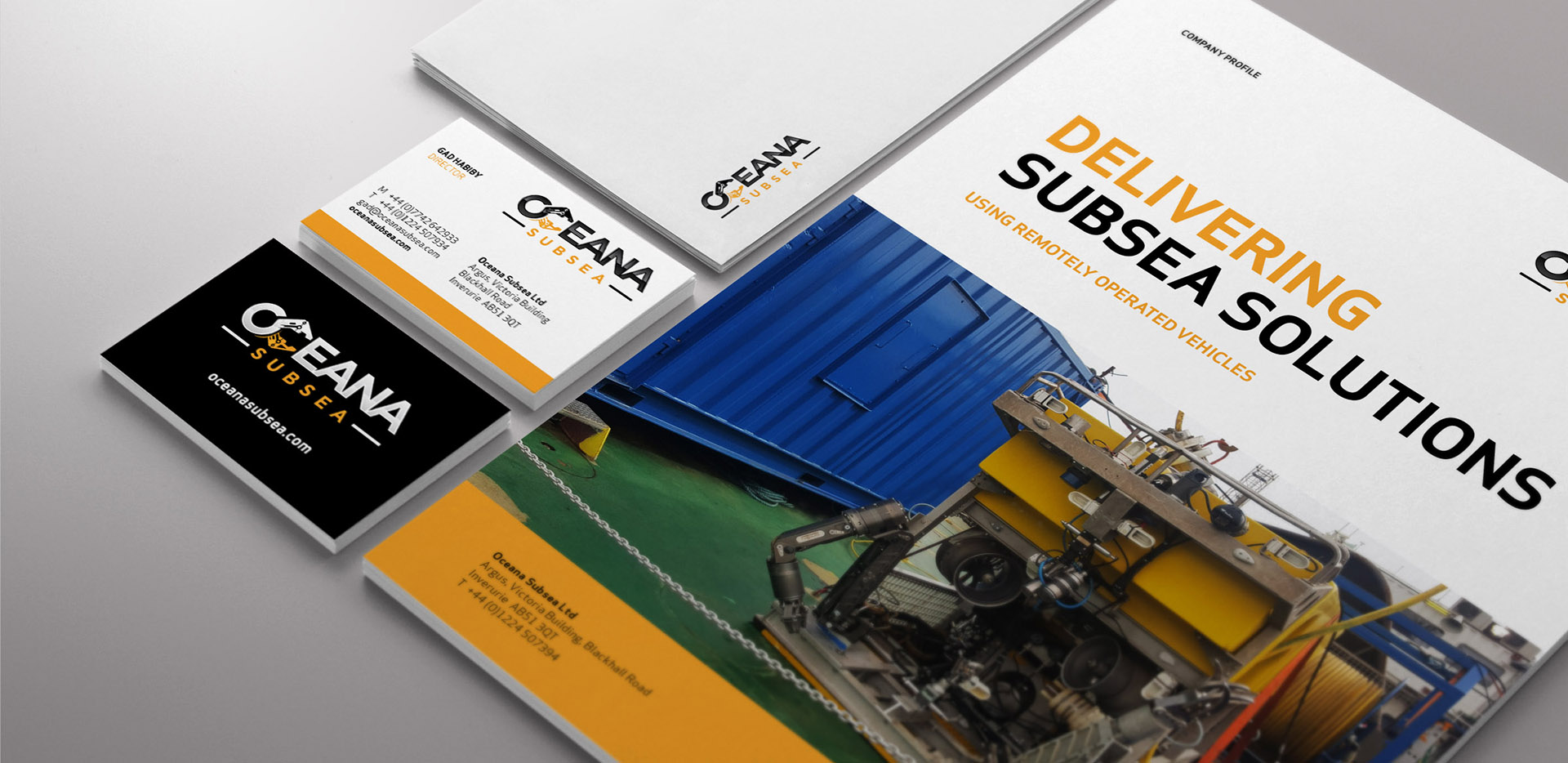 Oceana Subsea Stationery